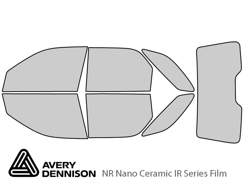 Avery Dennison Buick Rendezvous 2002-2007 NR Nano Ceramic IR Window Tint Kit