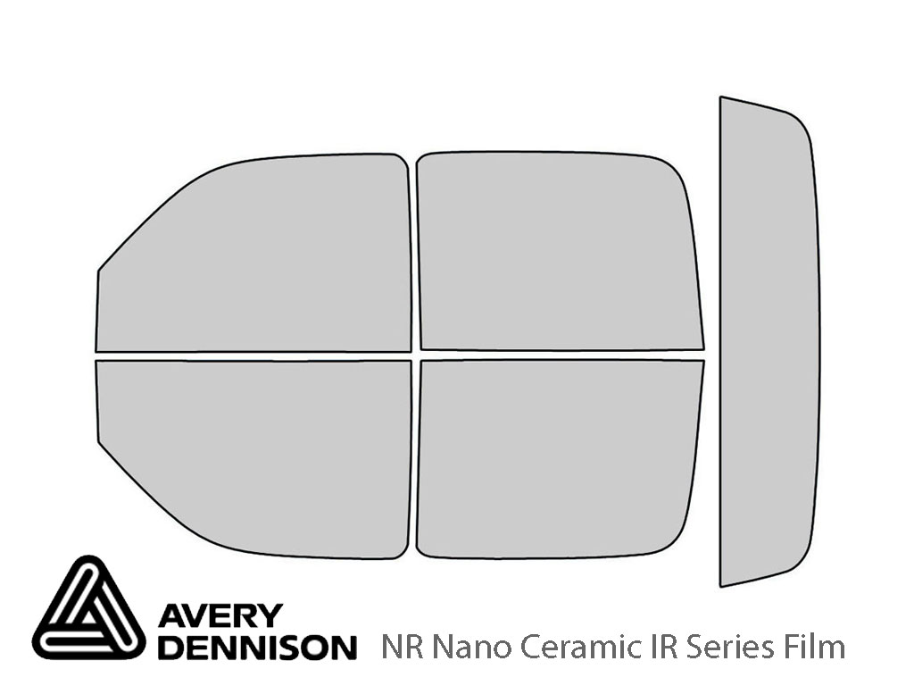 Avery Dennison Cadillac Escalade 2003-2006 (EXT) NR Nano Ceramic IR Window Tint Kit