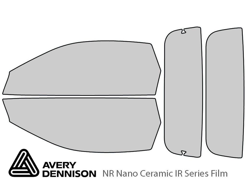 Avery Dennison Chevrolet Camaro 1994-2002 (Convertible) NR Nano Ceramic IR Window Tint Kit