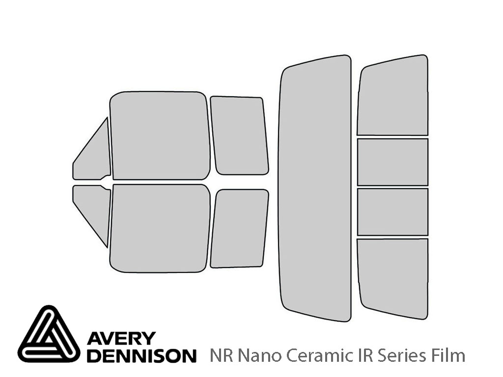 Avery Dennison Ford F-150 1992-1996 (2 Door) NR Nano Ceramic IR Window Tint Kit