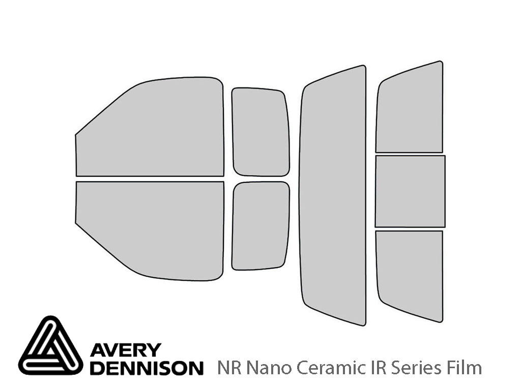 Avery Dennison Ford F-150 1997-2003 (2 Door) NR Nano Ceramic IR Window Tint Kit
