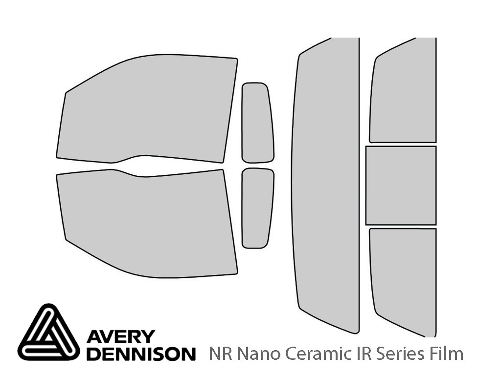 Avery Dennison Ford F-150 2009-2014 (2 Door) NR Nano Ceramic IR Window Tint Kit