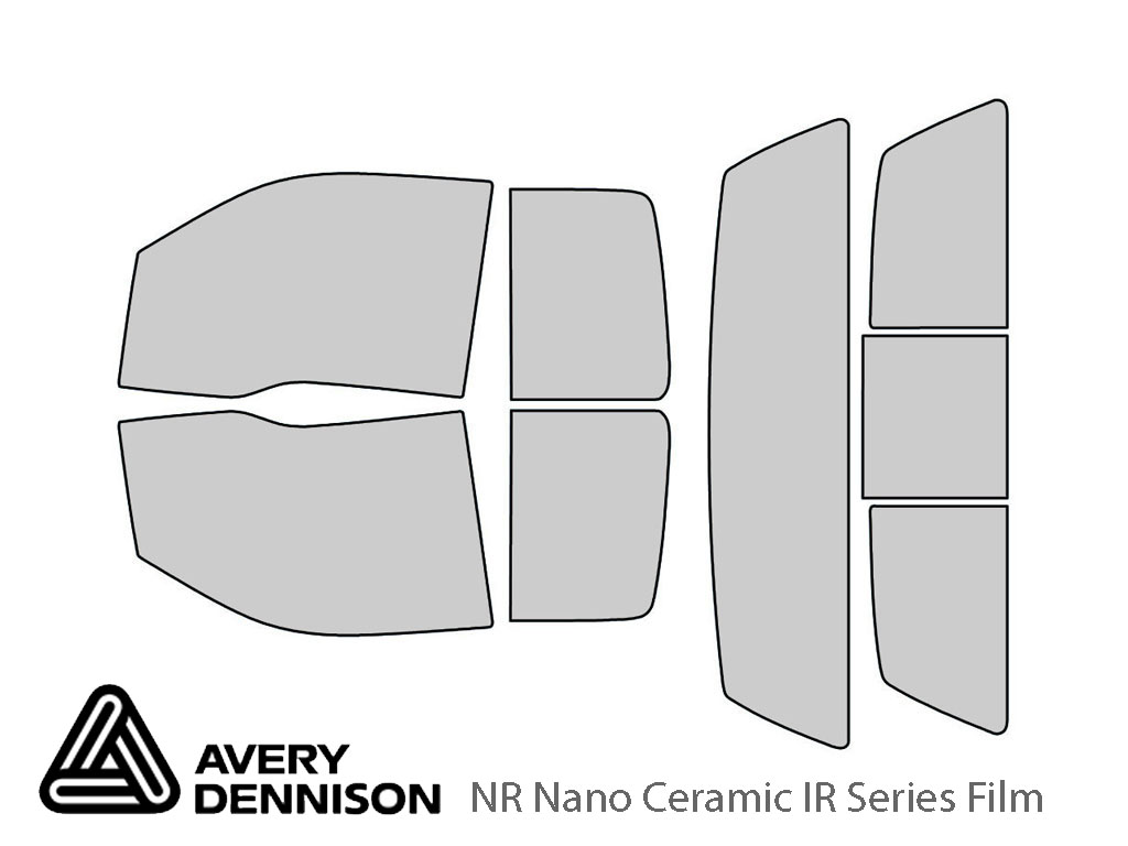 Avery Dennison Ford F-150 2009-2014 (2 Door SuperCab) NR Nano Ceramic IR Window Tint Kit