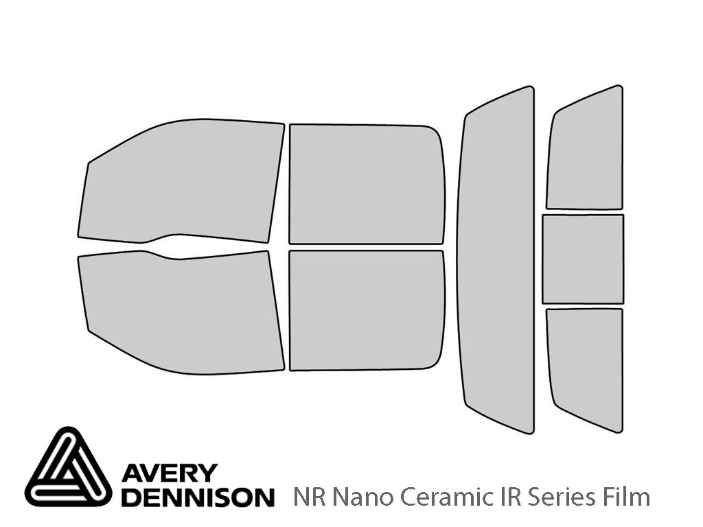 Avery Dennison Ford F-150 2009-2014 (4 Door) NR Nano Ceramic IR Window Tint Kit