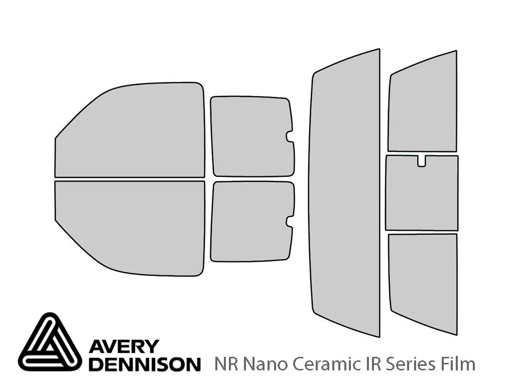 Avery Dennison GMC Sierra 2000-2006 (2 Door) NR Nano Ceramic IR Window Tint Kit