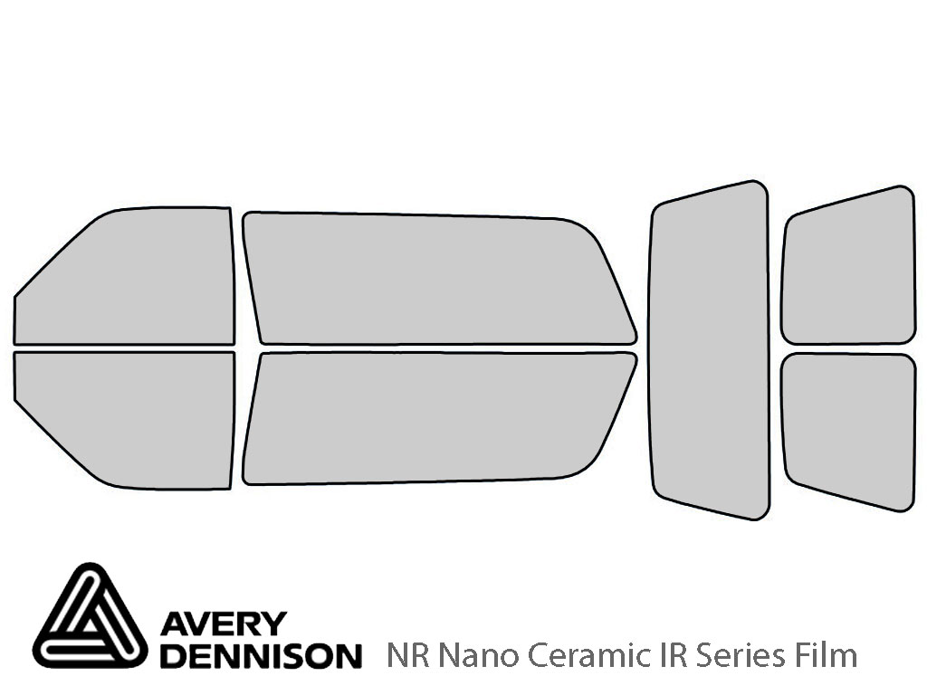 Avery Dennison GMC Yukon 1992-1999 (2 Door) NR Nano Ceramic IR Window Tint Kit