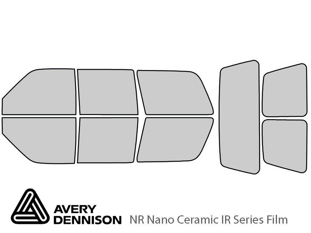 Avery Dennison GMC Yukon 1995-1999 (4 Door) NR Nano Ceramic IR Window Tint Kit
