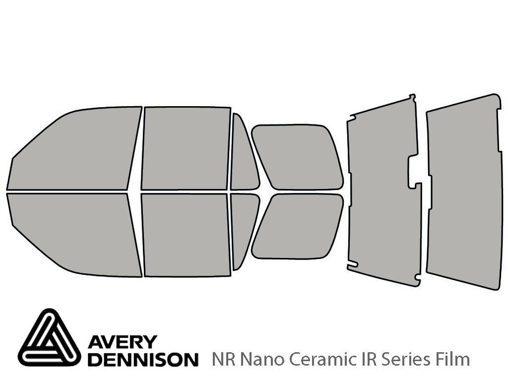 Avery Dennison Honda CR-V 1997-2001 NR Nano Ceramic IR Window Tint Kit