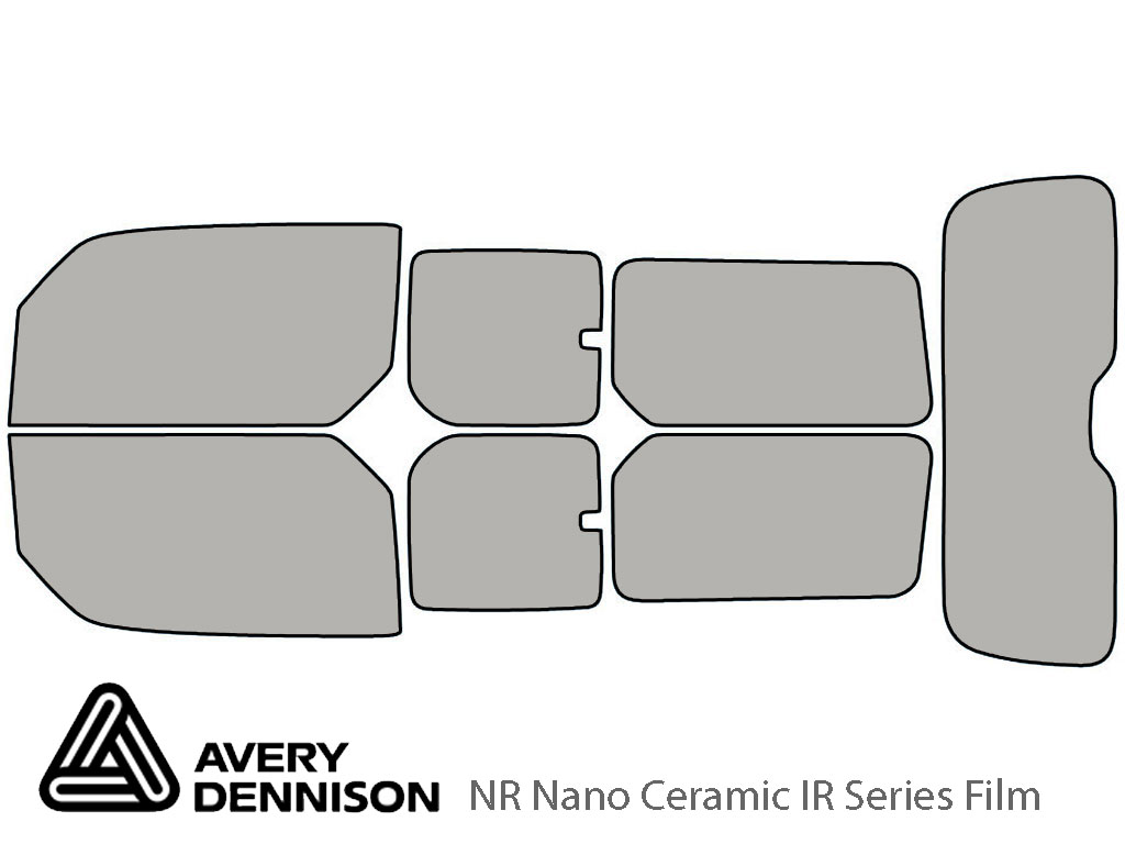 Avery Dennison Honda Element 2003-2011 NR Nano Ceramic IR Window Tint Kit
