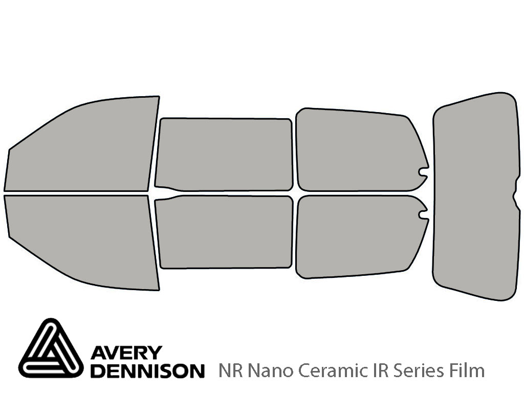 Avery Dennison Honda Odyssey 1999-2004 NR Nano Ceramic IR Window Tint Kit