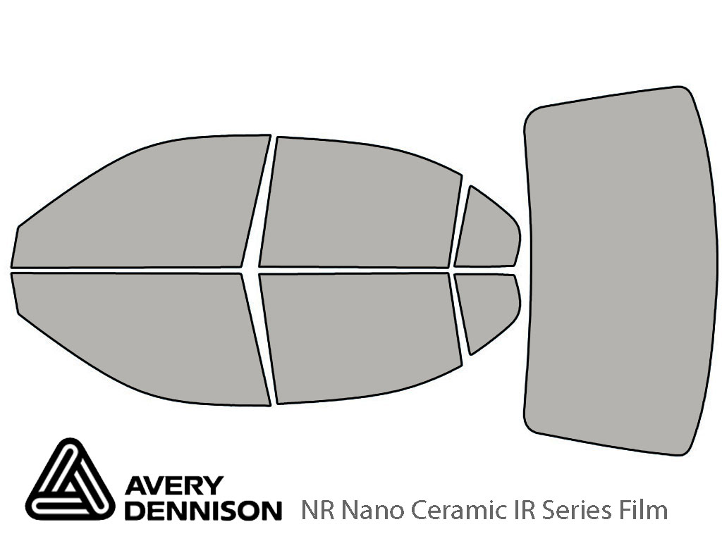 Avery Dennison Hyundai Elantra 2001-2006 (Sedan) NR Nano Ceramic IR Window Tint Kit