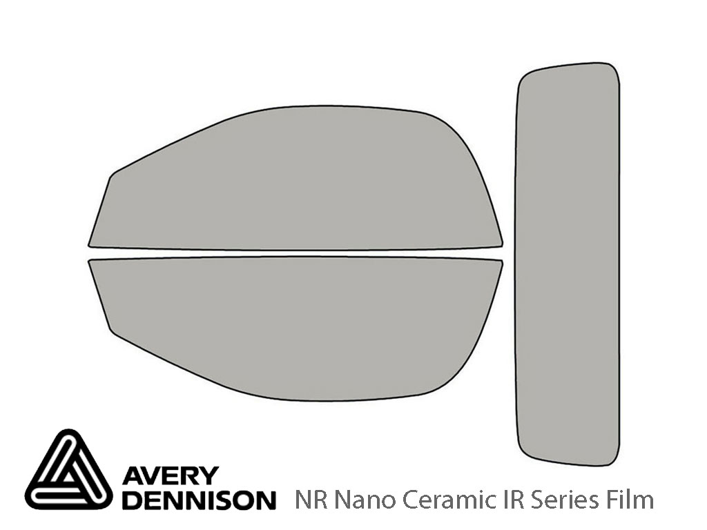 Avery Dennison Jaguar F-Type 2014-2020 (Convertible) NR Nano Ceramic IR Window Tint Kit