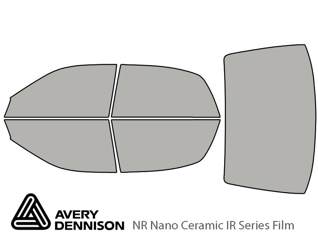 Avery Dennison Mitsubishi Diamante 1997-2004 NR Nano Ceramic IR Window Tint Kit