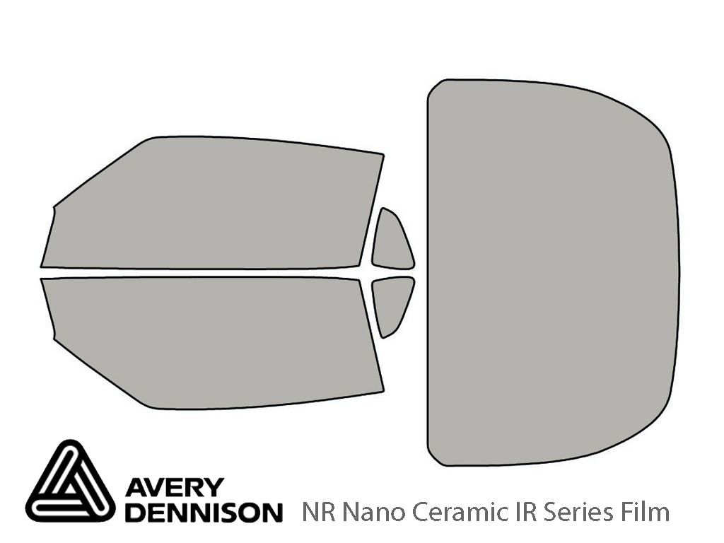 Avery Dennison Nissan 370Z 2009-2019 (Coupe) NR Nano Ceramic IR Window Tint Kit