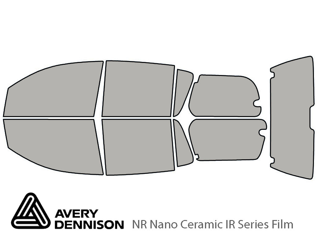 Avery Dennison Nissan Armada 2006-2015 NR Nano Ceramic IR Window Tint Kit