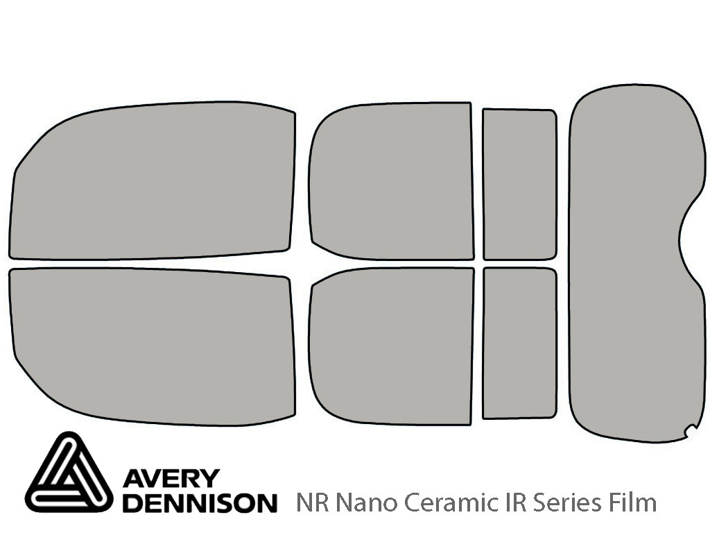 Avery Dennison Nissan Cube 2009-2014 NR Nano Ceramic IR Window Tint Kit