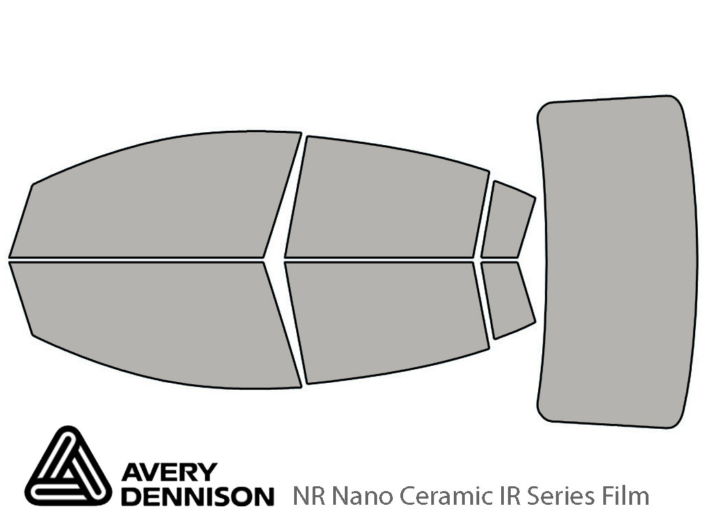Avery Dennison Nissan Sentra 2007-2012 NR Nano Ceramic IR Window Tint Kit