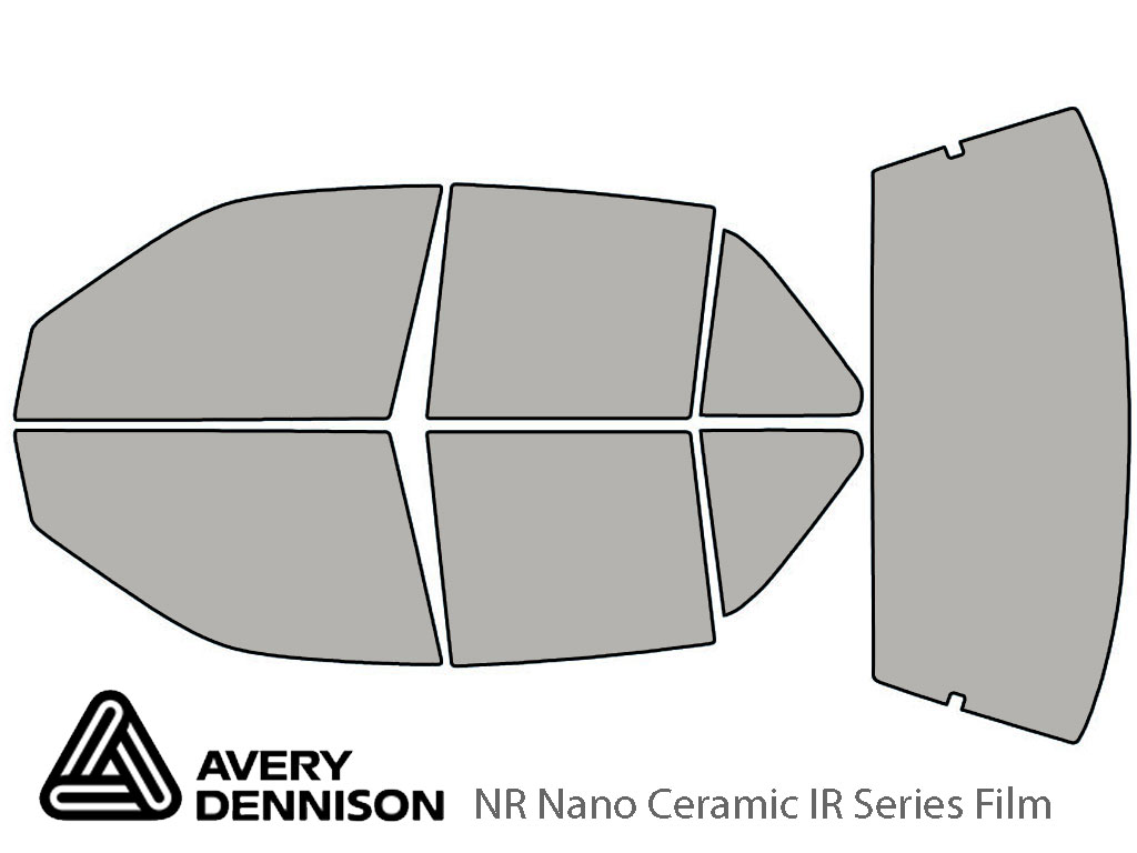 Avery Dennison Oldsmobile Achieva 1992-1998 (Sedan) NR Nano Ceramic IR Window Tint Kit