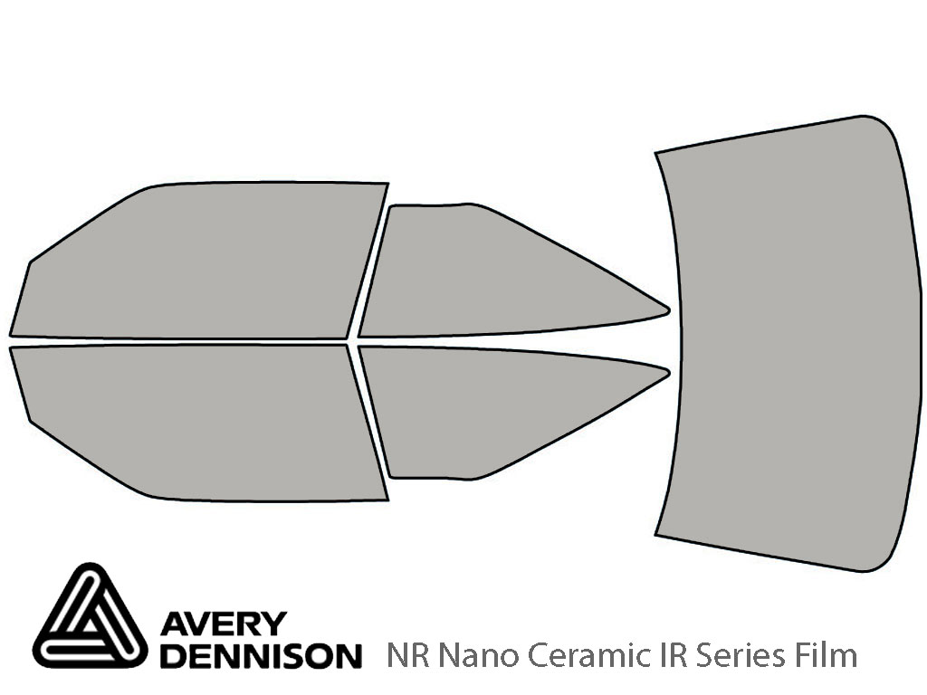 Avery Dennison Oldsmobile Cutlass Supreme 1989-1994 NR Nano Ceramic IR Window Tint Kit