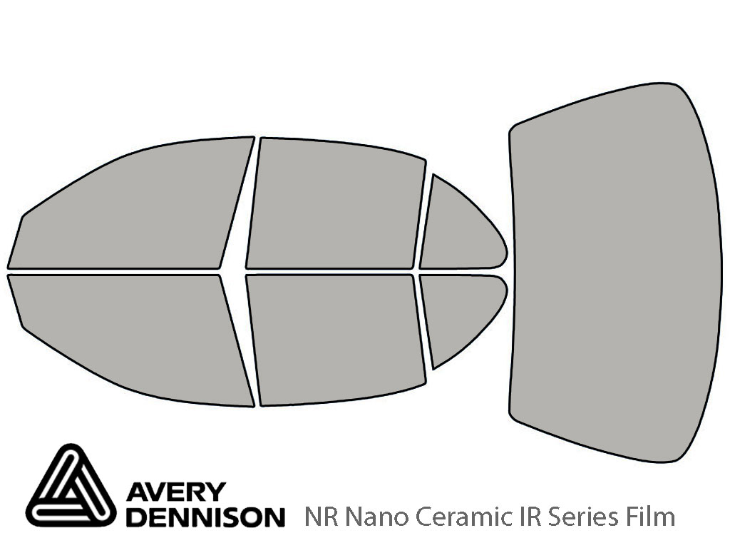 Avery Dennison Oldsmobile Intrigue 1998-2002 NR Nano Ceramic IR Window Tint Kit