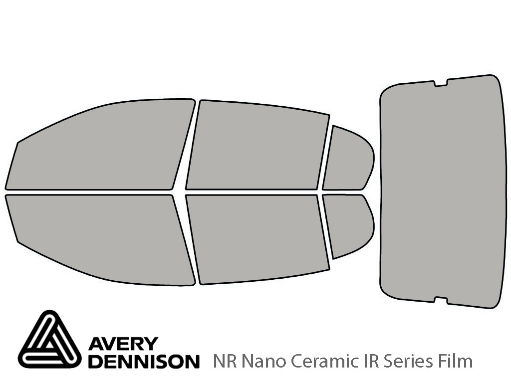 Avery Dennison Pontiac G5 2007-2009 (Sedan) NR Nano Ceramic IR Window Tint Kit