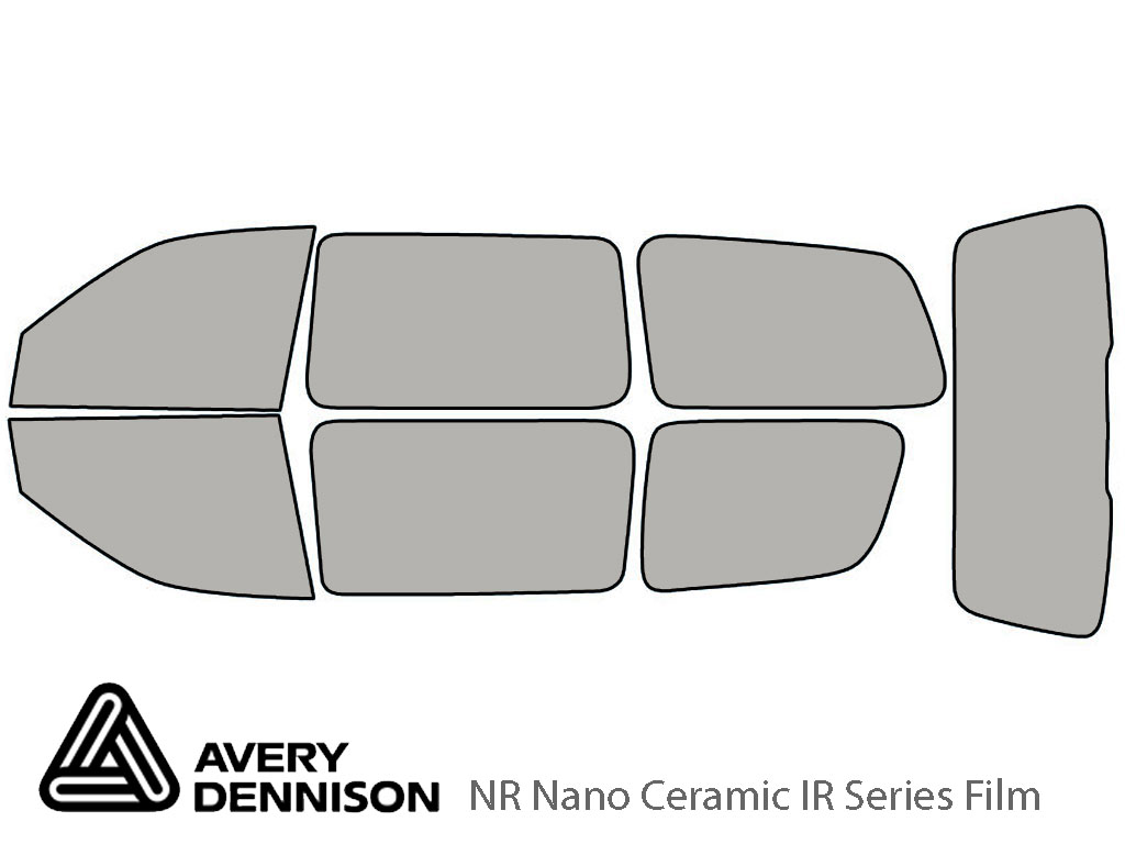 Avery Dennison Pontiac Montana 1999-2005 NR Nano Ceramic IR Window Tint Kit