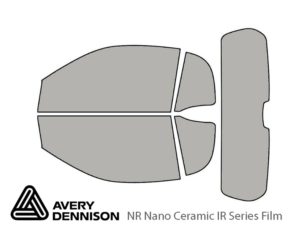 Avery Dennison SMART Fortwo 2008-2015 (Convertible) NR Nano Ceramic IR Window Tint Kit