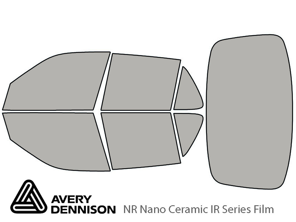 Avery Dennison Saab 9-5 1999-2009 (Sedan) NR Nano Ceramic IR Window Tint Kit