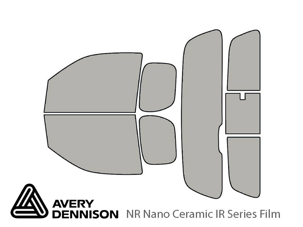 Avery Dennison Suzuki Equator 2009-2012 (2 Door) NR Nano Ceramic IR Window Tint Kit