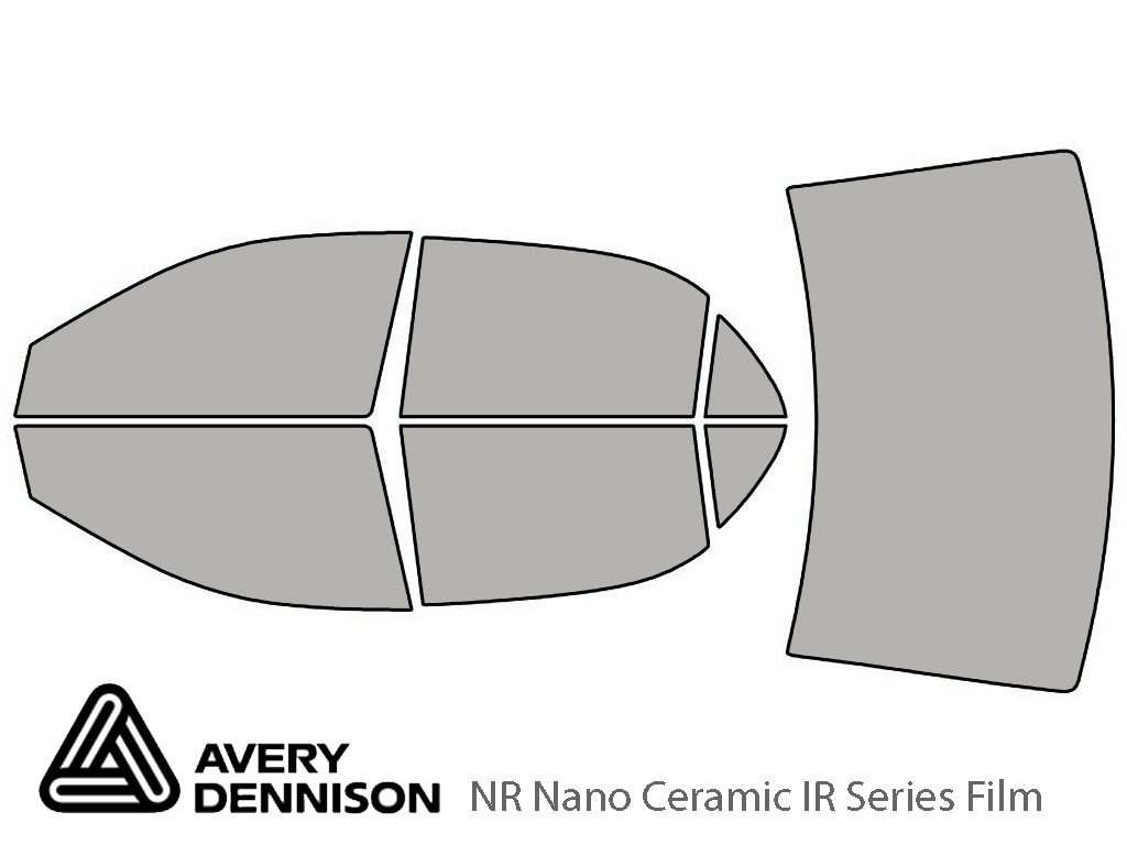 Avery Dennison Toyota Corolla 2003-2008 NR Nano Ceramic IR Window Tint Kit