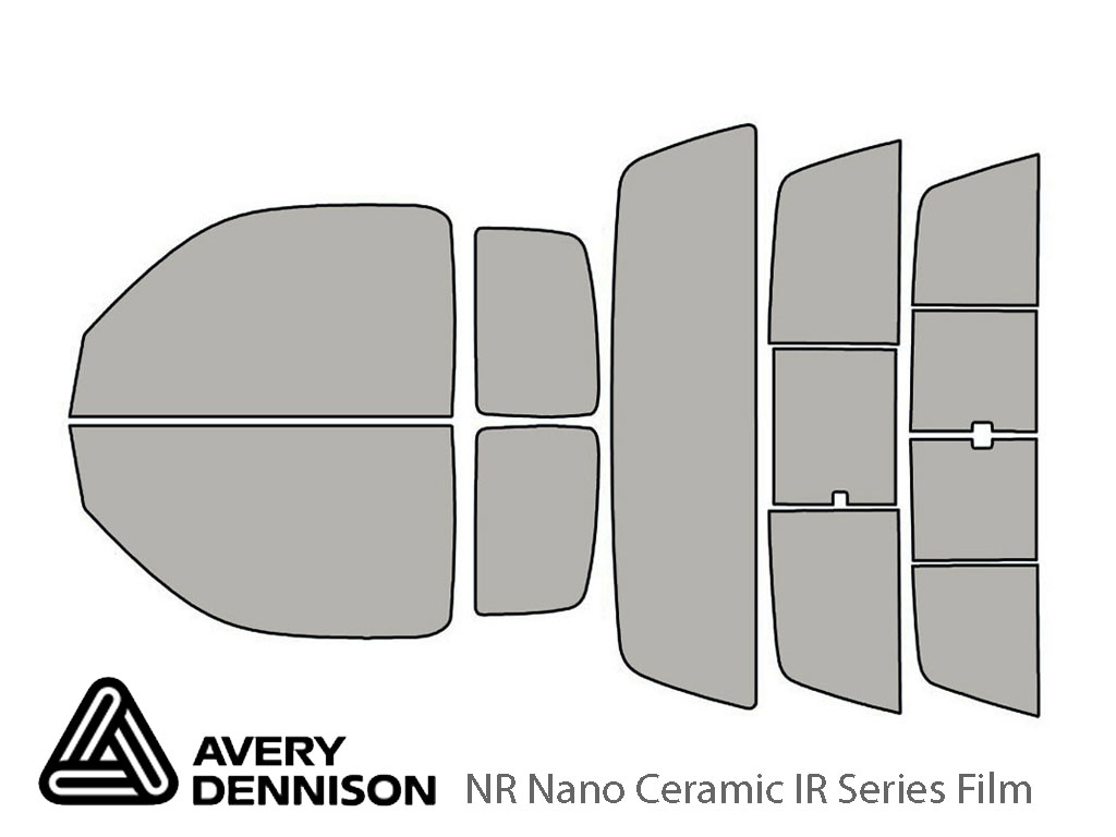 Avery Dennison Toyota Tacoma 1995-2004 (2 Door) NR Nano Ceramic IR Window Tint Kit