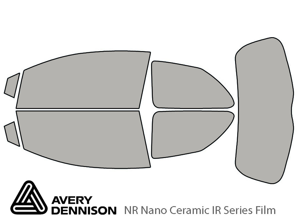 Avery Dennison Toyota Yaris 2007-2011 (2 Door Hatchback) NR Nano Ceramic IR Window Tint Kit