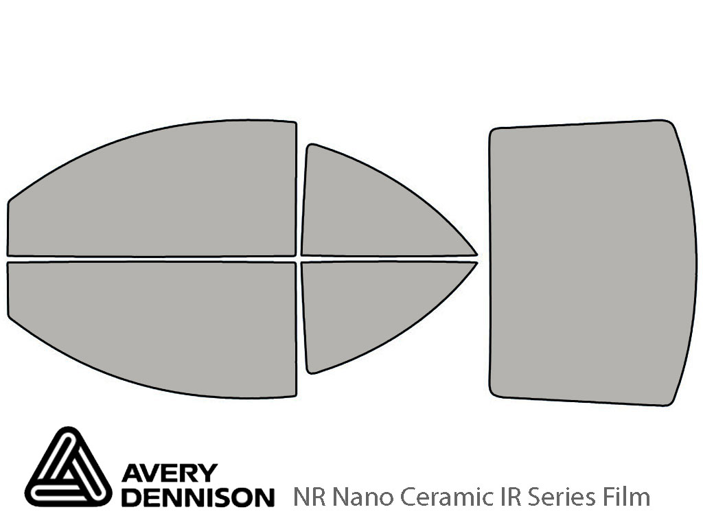 Avery Dennison Volkswagen Beetle 1998-2010 (Coupe) NR Nano Ceramic IR Window Tint Kit