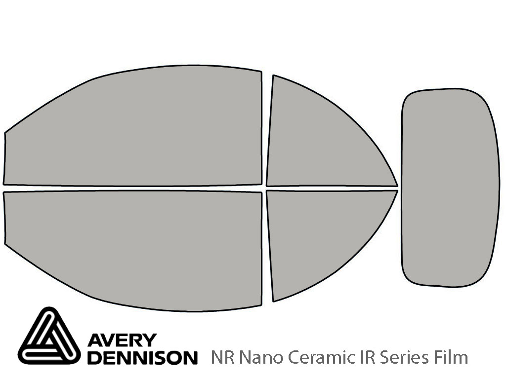 Avery Dennison Volkswagen Beetle 2003-2010 (Convertible) NR Nano Ceramic IR Window Tint Kit