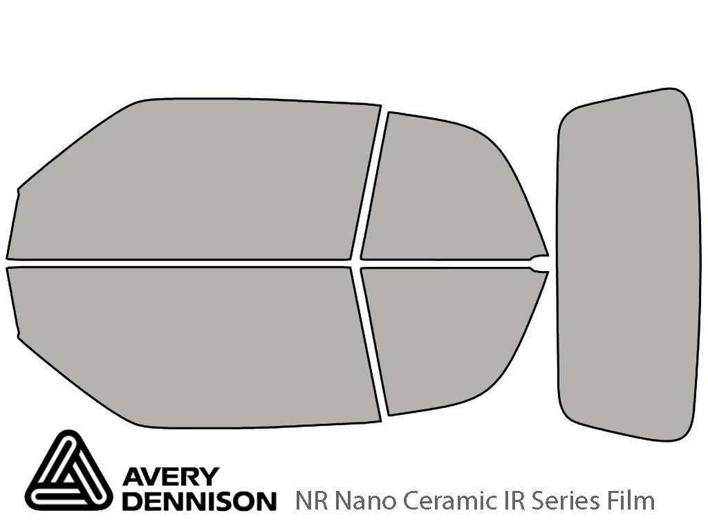 Avery Dennison Volkswagen Cabrio 1996-2002 NR Nano Ceramic IR Window Tint Kit