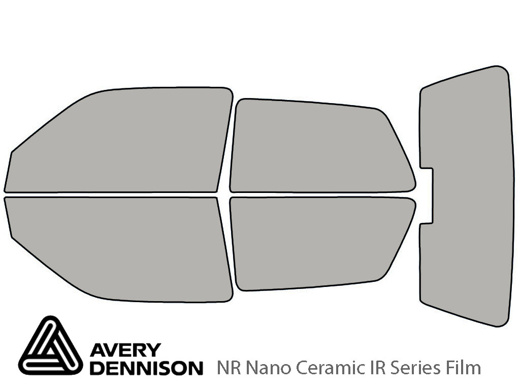 Avery Dennison Volkswagen Golf 1993-1999 (2 Door) NR Nano Ceramic IR Window Tint Kit
