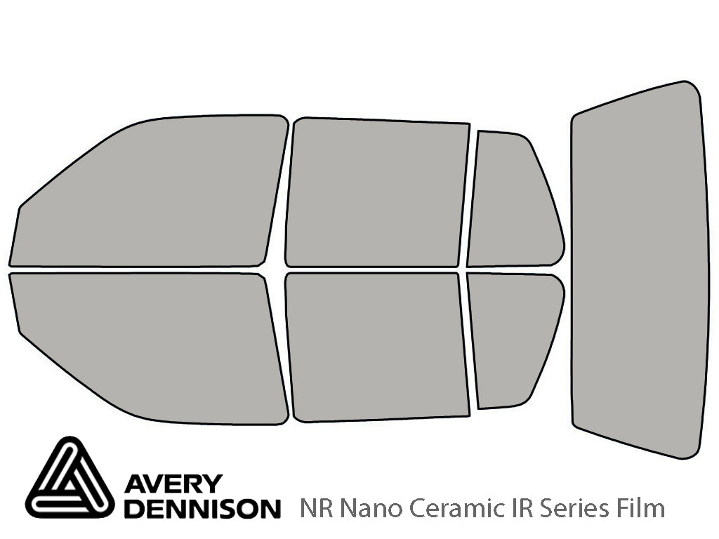 Avery Dennison Volkswagen Golf 1993-1999 (4 Door) NR Nano Ceramic IR Window Tint Kit