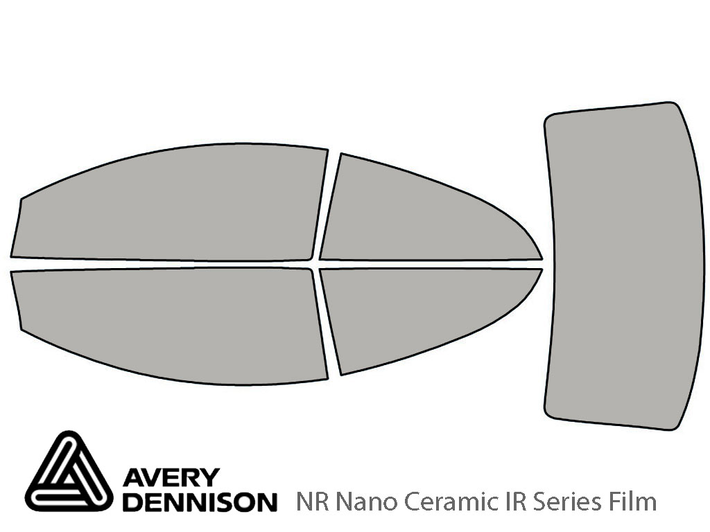 Avery Dennison Volvo C70 2006-2013 NR Nano Ceramic IR Window Tint Kit
