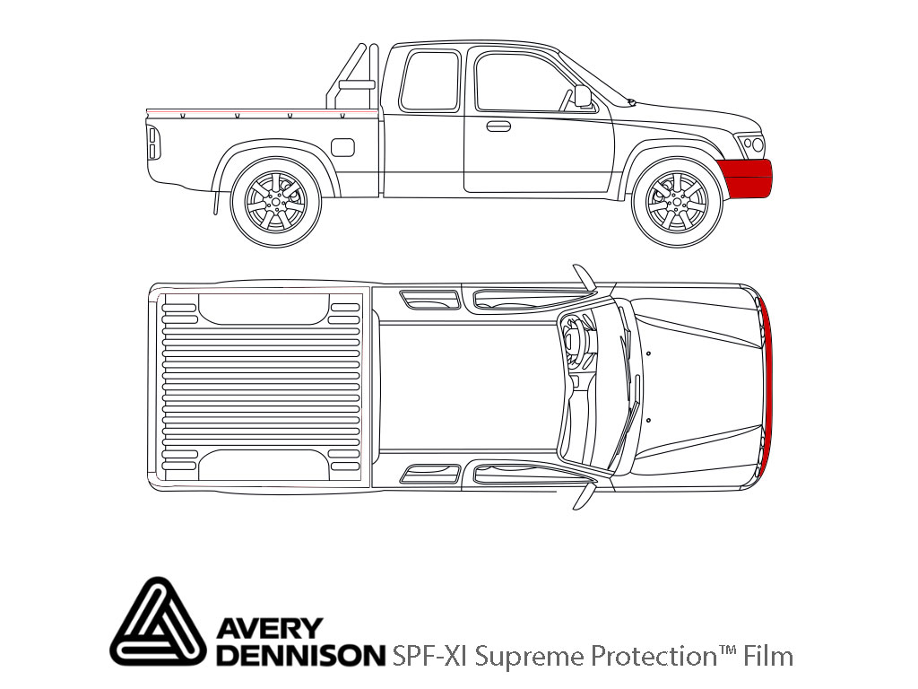 Avery Dennison Gloss SPF-XI Bumper Protection Wraps