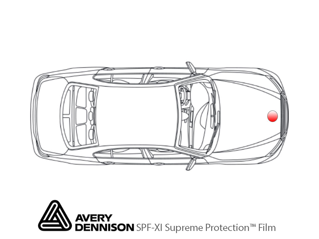Avery Dennison Gloss SPF-XI Hood Emblem Protection Wraps