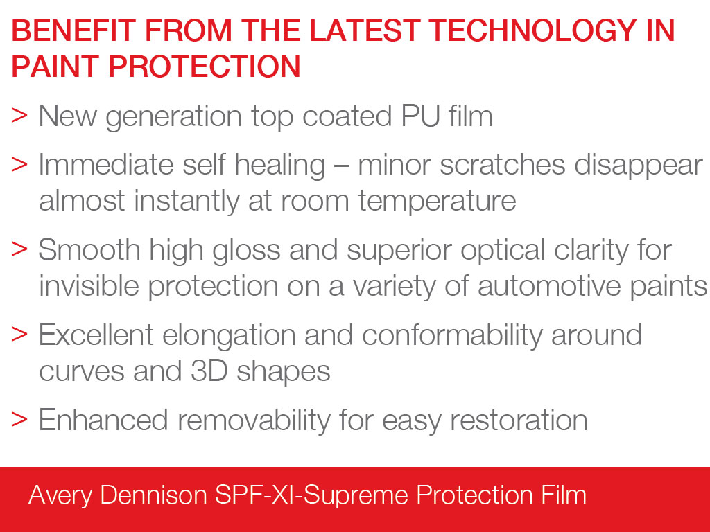Avery Dennison SPF-XI-Supreme Defense Protection Film Sheets