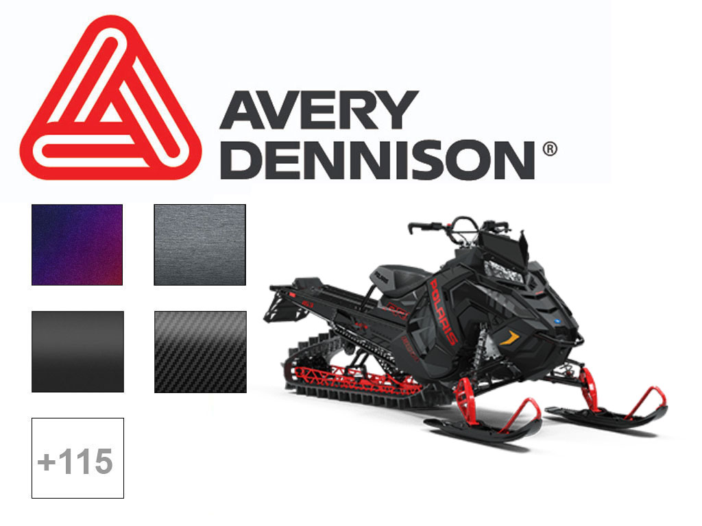 Avery Dennison® SW 900 Snowmobile Wrap , Avery Dennison®