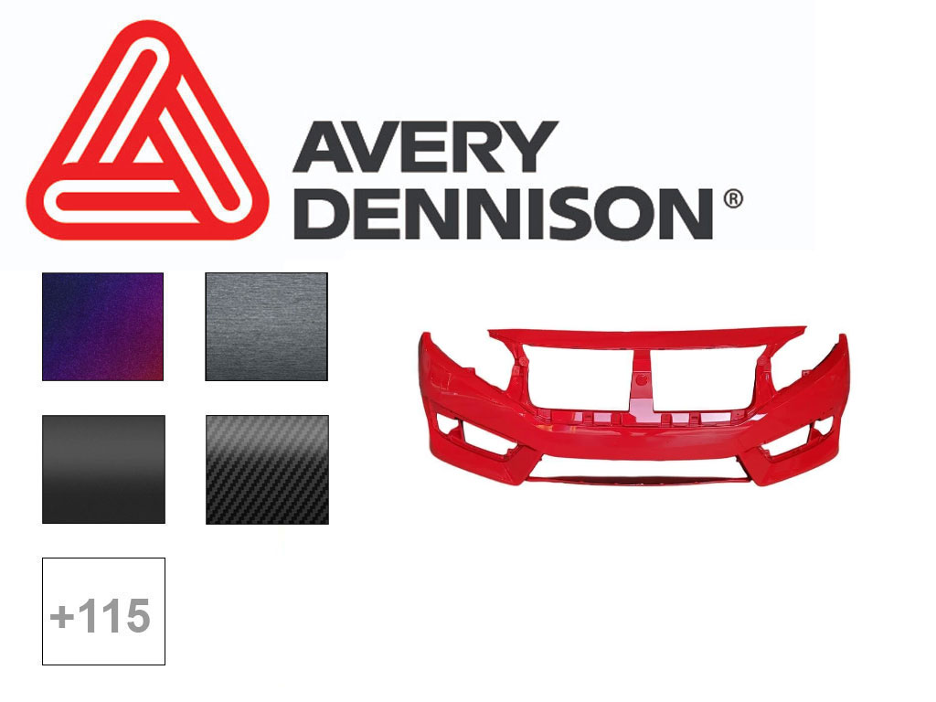 Avery SW900 Vehicle Bumper Wrap Film