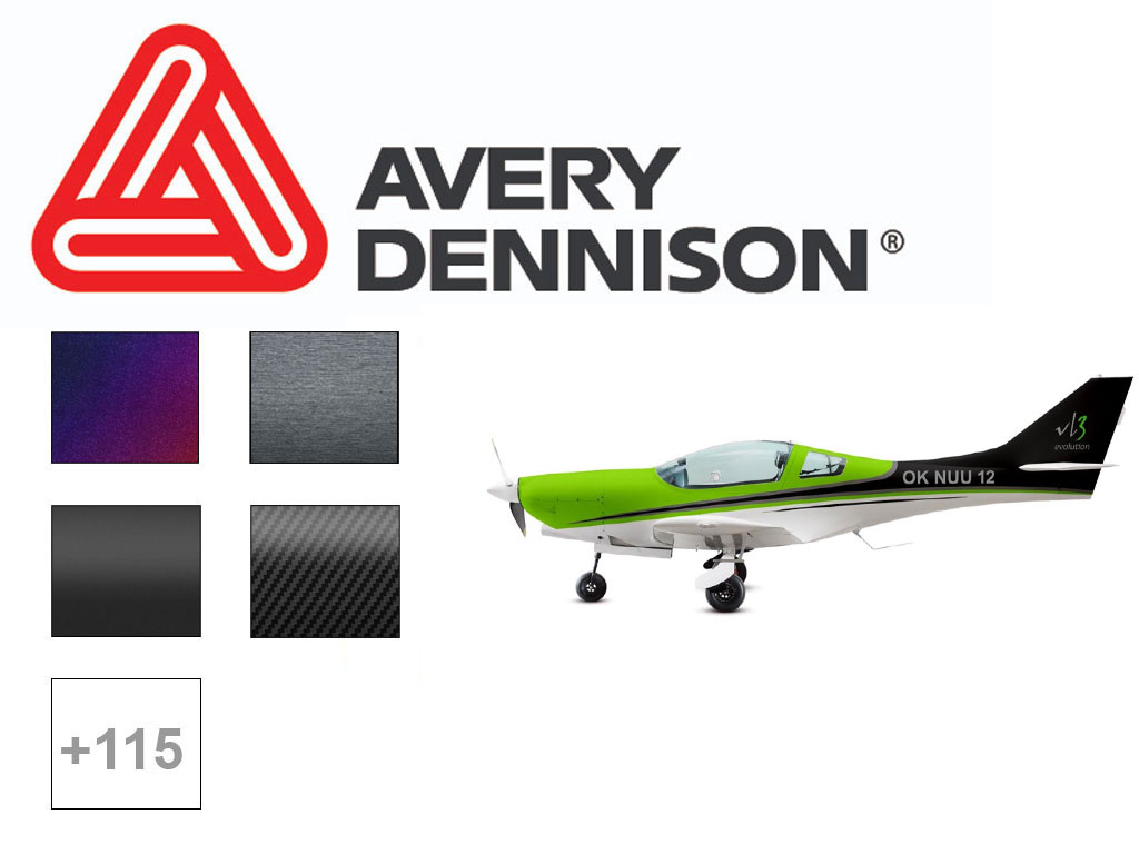 Avery SW900 Vinyl Plane Wrap Film