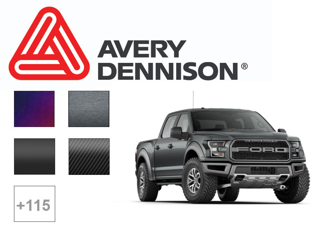 Avery SW900 Truck Vinyl Wrap Film