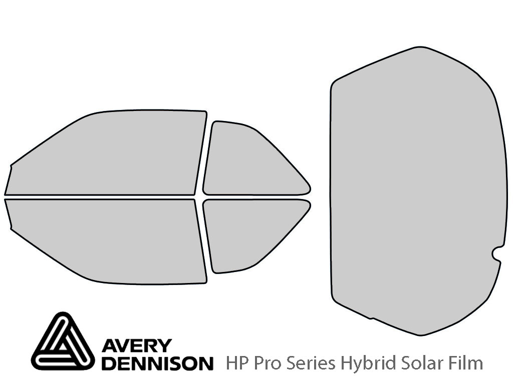 Avery Dennison Acura Integra 1990-1993 HP Pro Window Tint Kit