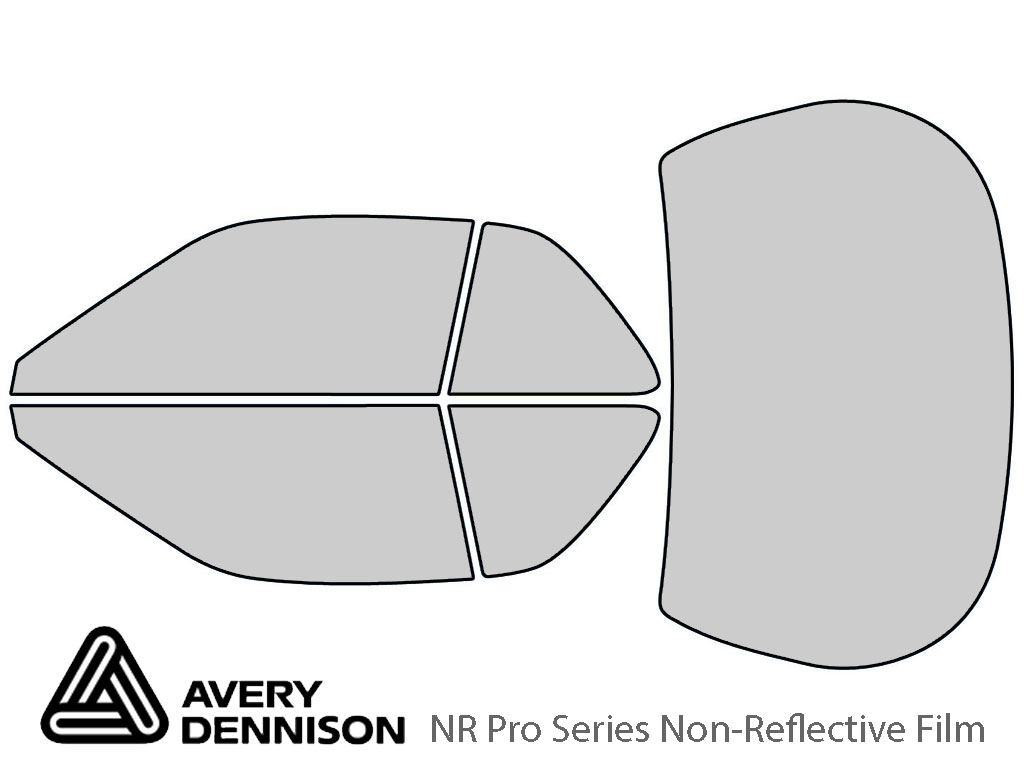 Avery Dennison Acura Legend 1990-1995 (Coupe) NR Pro Window Tint Kit