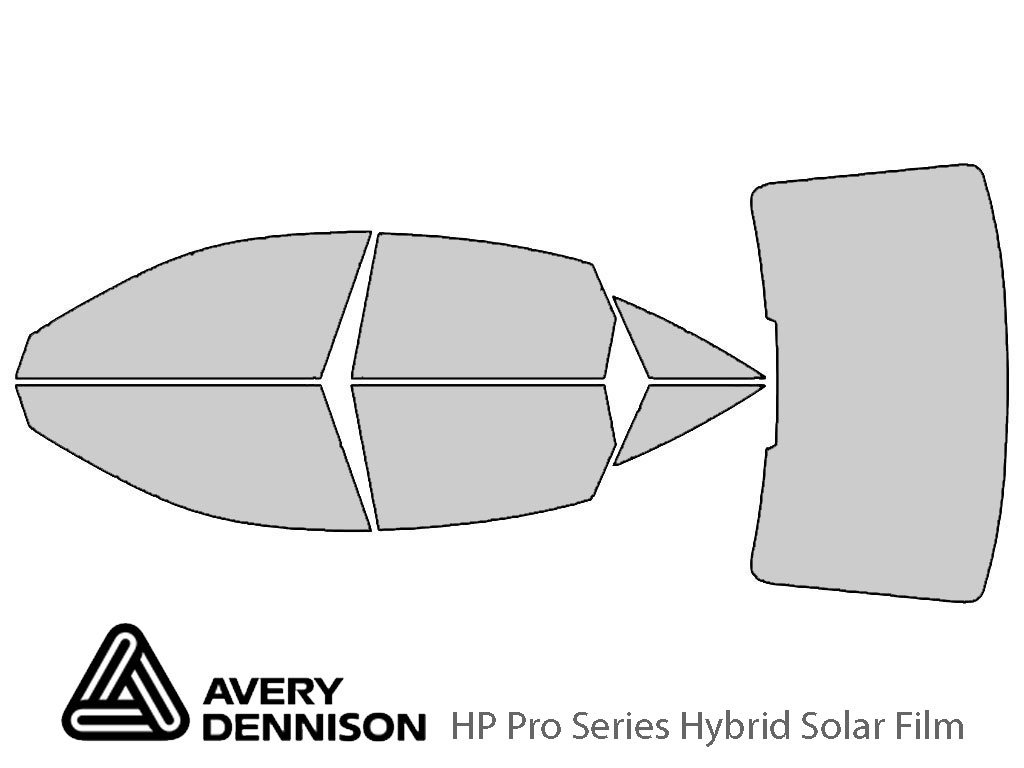 Avery Dennison Audi A6 2019-2021 (Sedan) HP Pro Window Tint Kit