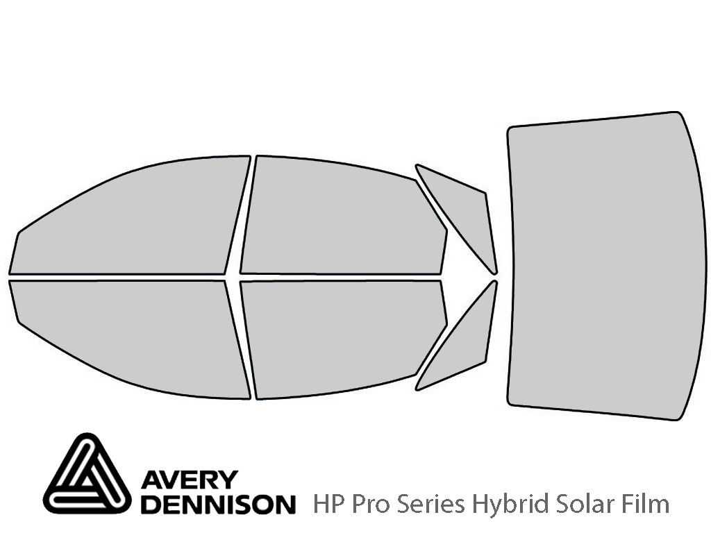 Avery Dennison Audi RS6 2003-2003 HP Pro Window Tint Kit
