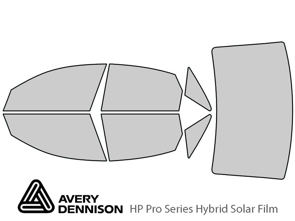Avery Dennison Audi S6 2013-2018 HP Pro Window Tint Kit
